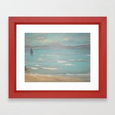 Luce Bay Framed Art Print