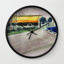 Hall Night USA Wall Clock