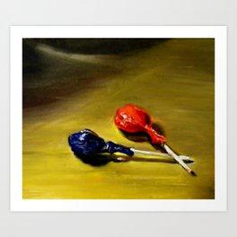 Lolipops Art Print