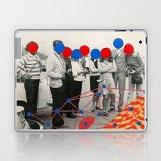 Outside Blue Laptop & iPad Skin