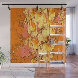 Indian Summer Yucca Flowers Wall Mural