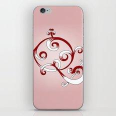 Alphabet Q iPhone & iPod Skin