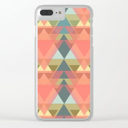60's Forest Clear iPhone Case