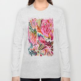 Sunk into a Candy Cave Long Sleeve T-shirt
