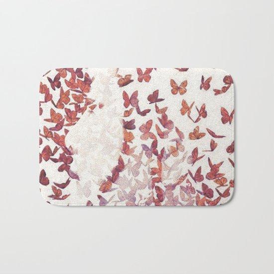 Butterfly People 4 Bath Mat