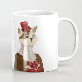 Steampunk Cat Lady Coffee Mug