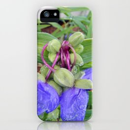 Knotty Flower iPhone Case