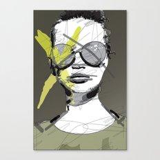 Camo-Chic Canvas Print