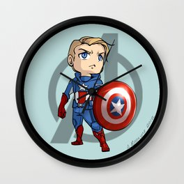 Captain America Wall Clock