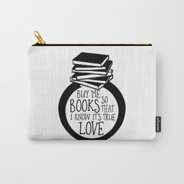 Bookish Engagment Carry-All Pouch