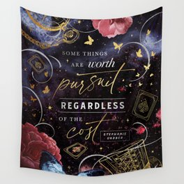 Worth pursuit Wall Tapestry
