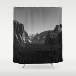Tunnel View, Yosemite National Park IV Shower Curtain