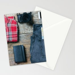 Get ready for the trip. Man edition Stationery Cards