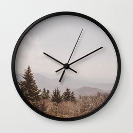 Mountain Pine Wall Clock