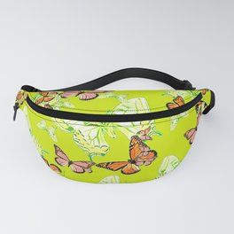Tiger and Butterflies Fanny Pack