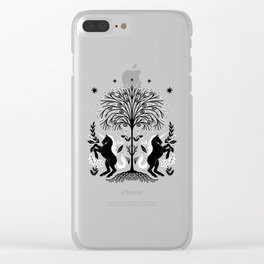 unicorn willow Clear iPhone Case