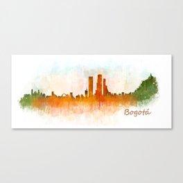 Bogota City Skyline Hq V3 Canvas Print