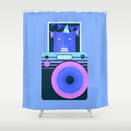 Real tired of your sh*t, hooman Shower Curtain