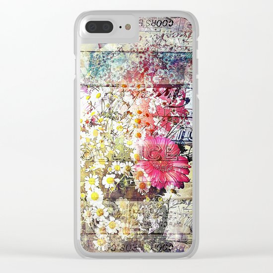 Wild flowers on display Clear iPhone Case