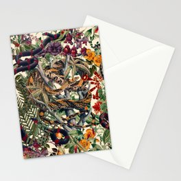 Dangers in the Forest II Stationery Cards