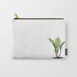 Red beet plant pencil drawn Carry-All Pouch