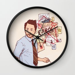 There is No Carol in HR Wall Clock