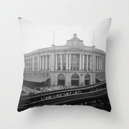 South Station, Boston 1904 Throw Pillow