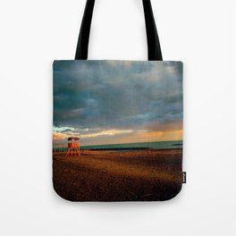 Bay-Watch Tower  Tote Bag