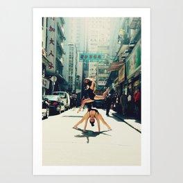 Dancing Duo Art Print