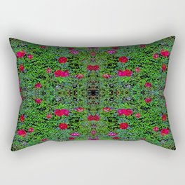 bh quaratine rose hedge Rectangular Pillow