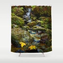 Autumn At Trillium Shower Curtain