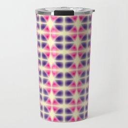 violet and pink fragments Travel Mug