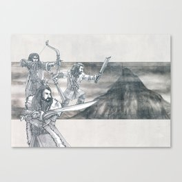 Heirs of Durin Canvas Print
