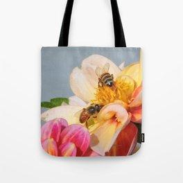 Honeybees at Work Tote Bag