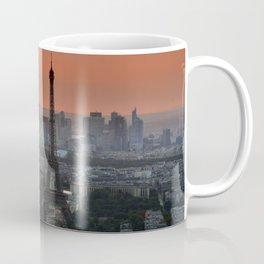 Eiffel Tower Sunset / Paris, France Coffee Mug