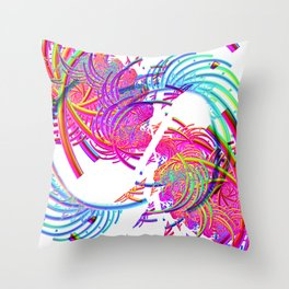 Spaghetti Junction Throw Pillow
