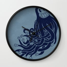 Octadecapus Wall Clock