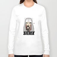 teen wolf Long Sleeve T-shirts featuring Teen Wolf-Sterek Hat by nolongerinuse