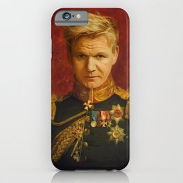 Gordon Ramsay Portrait iPhone Case