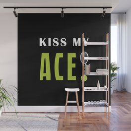 Kiss my ace Wall Mural