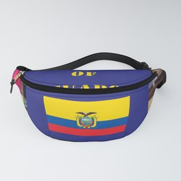 The People of Ecuador, Collage Fanny Pack