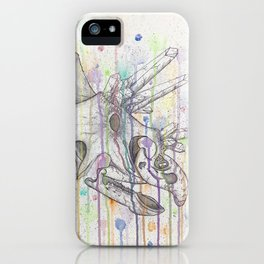 Crystal Triceratops iPhone Case