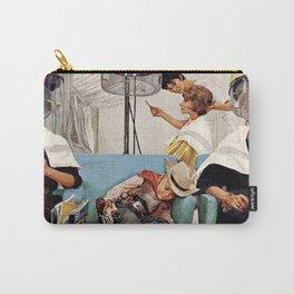 Retro Beauty Salon Carry-All Pouch