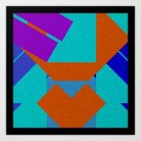 Geometrics smth Art Print