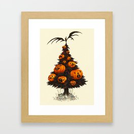 Hallow Tree Framed Art Print