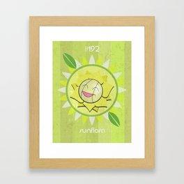 Sunflora Framed Art Print