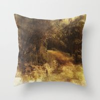 destiny Throw Pillows featuring Destiny by Dorothy Pinder