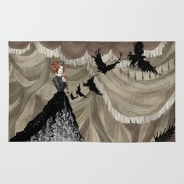 Midnight Circus: The Illusionist Rug
