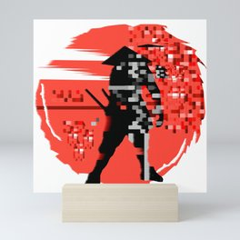 Glitch Mini Art Print