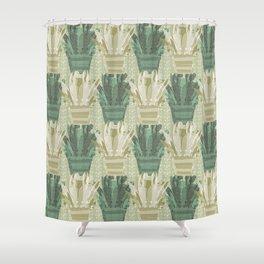 Emerald Avonia Shower Curtain